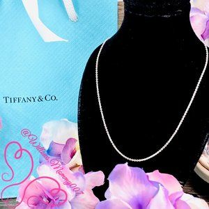 NWOT Tiffany & Co Paloma Picasso Pendant Chain 18""